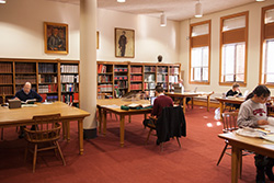 The Newberry's Special Collections Reading Room